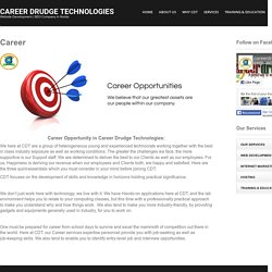 Career in Website Development Company & Digital Marketing