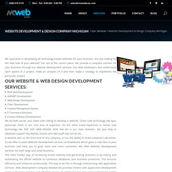 Website Development & Design Company Michigan