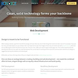 Website Development Company India, Web Development Services - Bonoboz