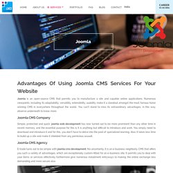 Joomla Website Development Services, Company, Agency