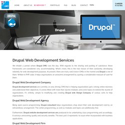 Drupal Website Development Services, Company, Agency in Delhi