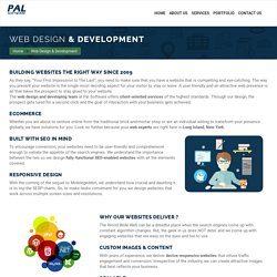 Website Design and Development Services Company Long Island New York