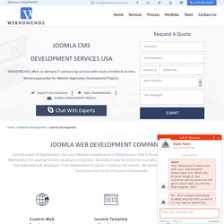 Joomla Website Development Services USA, Joomla Web Development Company USA