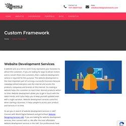Website Development Services UAE