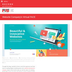 Website Company's Virtual FACE