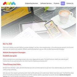 Website Development Strategy in 2020