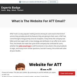 What is The Website For ATT Email? – Experts Badge