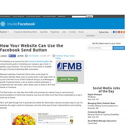 How Your Website Can Use the Facebook Send Button