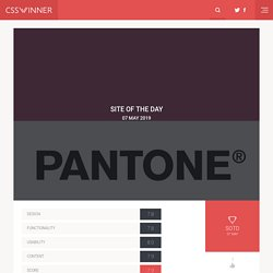 CSS Winner | CSS Gallery | CSS Websites | CSS Showcase | CSS Inspirations | CSS Awards | CSS Web Design Showcase and Website Design Gallery