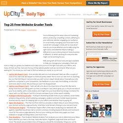 Top 25 Free Website Grader Tools