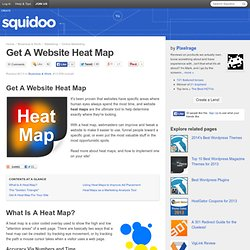 Use a Heat Map for Optimal Website Ad Exposure!