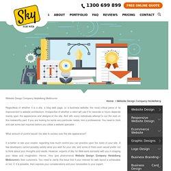 Website Design Company Heidelberg Melbourne