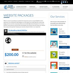 Affordable Web Development Packages