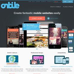 Onbile - Create your mobile website with premium templates