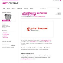Website & Blog Logo Design - Process & Tips
