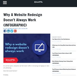 Why A Website Redesign Doesn't Always Work (INFOGRAPHIC)