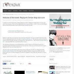 Website of the week: Reykjavík Center Map dot comI heart Reykjavík