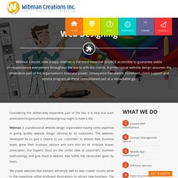 Best web designing company in India
