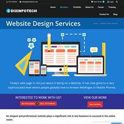 best web design company- dixinfotech