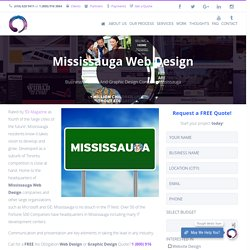 Website Design & Graphic Design Services Mississauga, Ontario, Canada