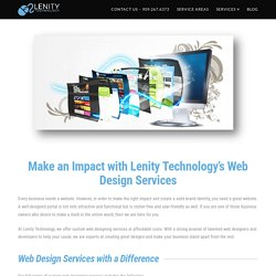 IT Services in Riverside at Lenity Technology