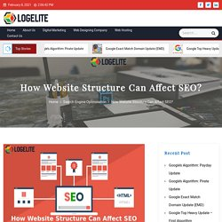 How Website Structure Can Affect SEO? - Logelite