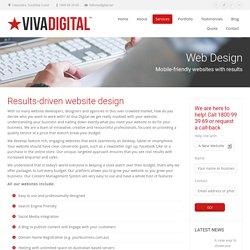 Website Design on the Sunshine Coast - Viva Digital