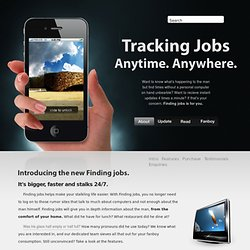 A website template for selling iPhone applications
