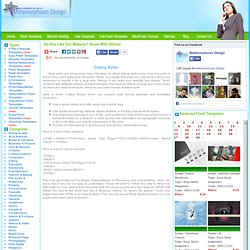 Free Website Templates, Free Web Templates, Flash Templates, Website Templates, Website Design