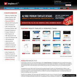 Website Templates / Web Templates / Web 2.0 Templates (Dreamweav