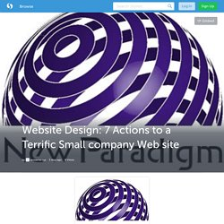 Website Design: 7 Actions to a Terrific Small company Web site (with image) · seosantarosa