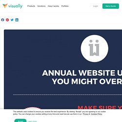 Annual Website Updates You Might Overlook