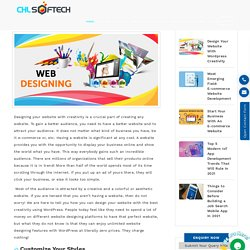Design Your Website With Wordpress Creativity