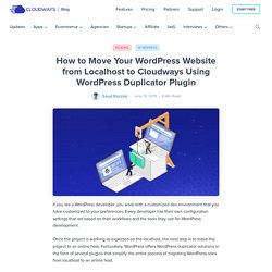 How to Move a Website Using WordPress Duplicator Plugin
