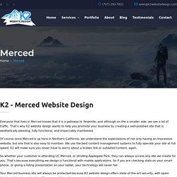 K2 - Merced Website Design / SEO / WordPress / Hosting