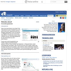 c't - Websites aktuell