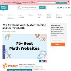 Best Math Websites for the Classroom, As Chosen by Teachers