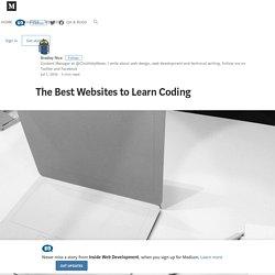 The Best Websites to Learn Coding – Inside Web Development