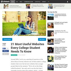 21 Most Useful Websites Every College Student Needs To Know