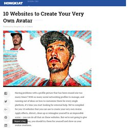 10 Websites to Create Your Very Own Avatar - Hongkiat