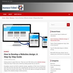 simple step to create website in 2020
