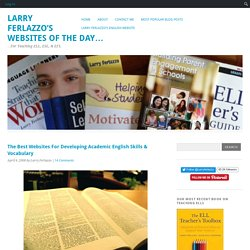 The Best Websites For Developing Academic English Skills & Vocabulary