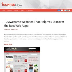 10 Awesome Websites That Help You Discover the Best Web Apps