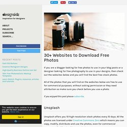 30+ Websites to Download Free Photos