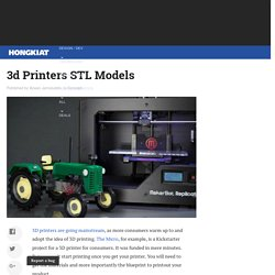 25 Websites To Download Free STL Models For 3D Printers