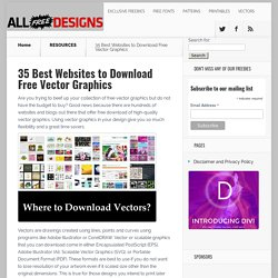 Top 100 Websites for Downloading Free Vectors