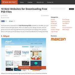 10 Best Websites for Downloading Free PSD Files