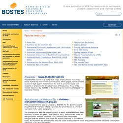 Partner Websites - Board of Studies Teaching and Educational Standards NSW