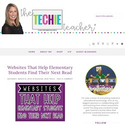 Websites That Help Elementary Students Find Their Next Read
