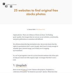 24 websites to find original free pics